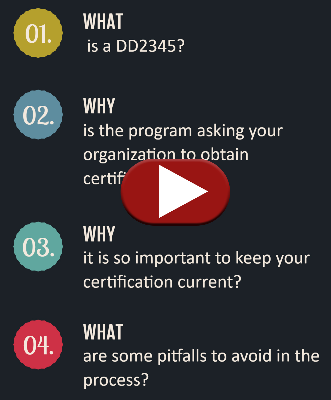 DD2345 Video Instruction Image