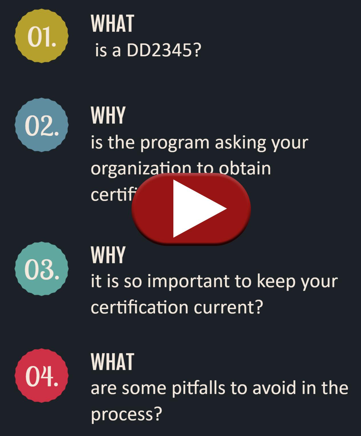 DD2345 Video Instruction Image